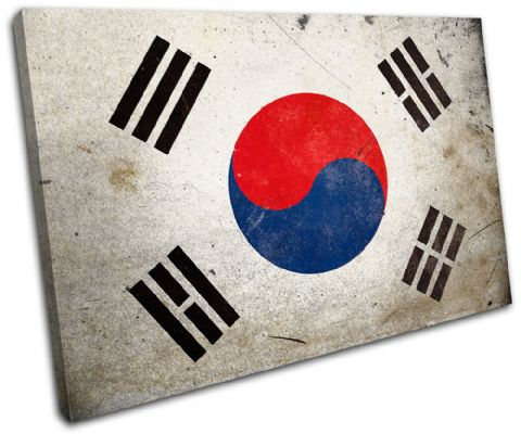 Abstract South Korean Maps Flags - 13-1174(00B)-SG32-LO